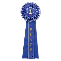 1st Place Deluxe Rosette Ribbon