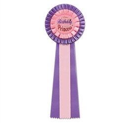 Birthday Princess Deluxe Rosette Ribbon