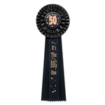 50 It's The Big One Deluxe Rosette Ribbon