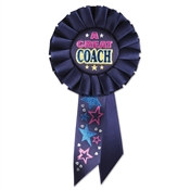 A Great Coach Rosette Ribbon