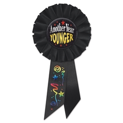 Another Year Younger Rosette Ribbon