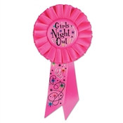 Girls' Night Out Rosette Ribbon