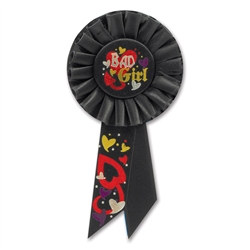 Bad Girl Rosette Ribbon