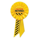 Caution Retired Rosette