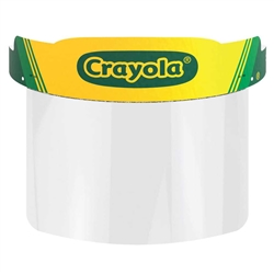 Crayola Color Your Own Face Shields are a creative way to talk to your kids about why face coverings are important.