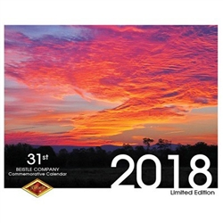 Beautiful landscape photos of sunrise and sunset provide picturesque backdrops for these beautiful Cumberland Valley locations. This 12 month calendar Commemorative Calendar is produced by The Beistle Company. Measures 12.25 by 22 inches when opened.