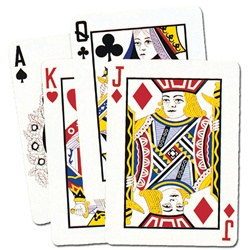 Giant Playing Card Cutouts (4/pkg)