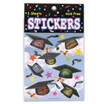 Hats Off Stickers (2 Sheets/ Pkg)