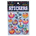 You Did It! Stickers (2 Sheets/Pkg)