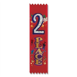 2nd Place Value Pack Ribbons (10/Pkg)