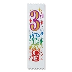3rd Place Value Pack Ribbons (10/Pkg)