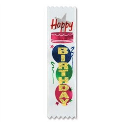 Happy Birthday Value Pack Ribbons (10/Pkg)