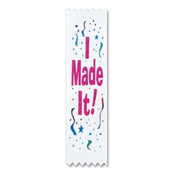 I Made It! Value Pack Ribbons (10/Pkg)