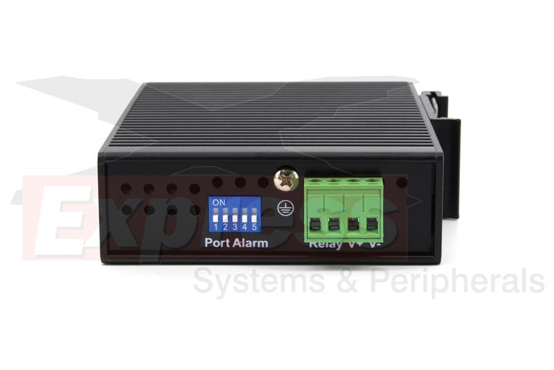 5 Ports COMTROL CORP 32025-8 5 x RJ-45-10//100Base-TX RocketLinx ES8105 Ethernet Switch