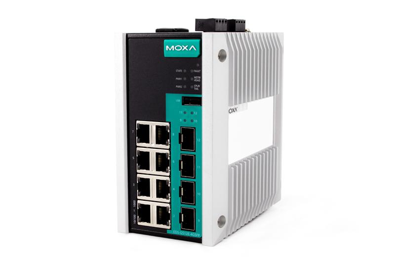 Moxa EDS-G512E Switch New