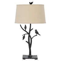 CAL Lighting Medora Iron Table Lamp- Iron