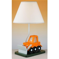 CAL Lighting Bulldozer Lamp- Acrylic