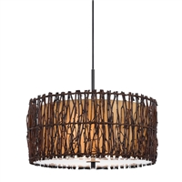 CAL Lighting Winnett Twig Pendant Fixture- Twig