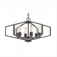 Dolan Designs Hexagon Chandelier- 1145