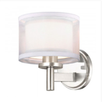 Dolan Designs Double Organza Sconce- 1277