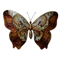 Eangee Home Design Wall Butterfly Copper (m713117)