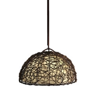Eangee Home Design Vine & Leaf Dome Pendant