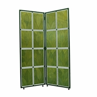 Eangee Home Design Cocoa Leaf Room Divider