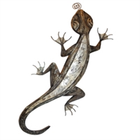 Eangee Home Design Wall Gecko Color (m411182a)- Gray