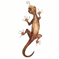Eangee Home Design Wall Gecko Brown (m713111)