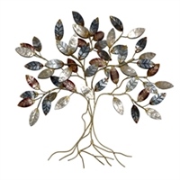 Eangee Home Design Cool Color Leafed Tree (m714193)
