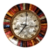 Eangee Home Design Multi Colored Clock
