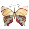 Eangee Home Design Butterfly Pearl Tan And Brown (m710046k)