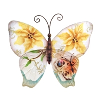Eangee Home Design Butterfly Small Sunflowers And Pearls (m710046 NS)