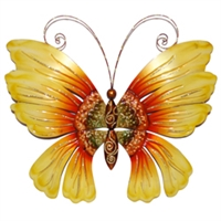 Eangee Home Design Wall Butterfly Sunflower (m711036)