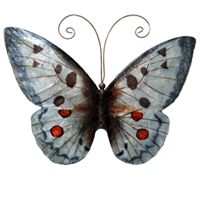 Eangee Home Design Wall Butterfly White And Red (m713115)