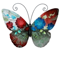 Eangee Home Design Wall Butterfly Spring Flowers (m713116)