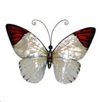 Eangee Home Design Red Tipped Butterfly (m714231)