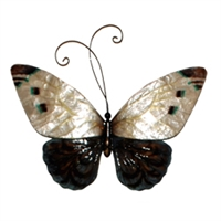 Eangee Home Design White And Blue Butterfly (m714237)