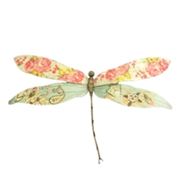 Eangee Home Design Dragonfly Pink And Blue (m215041)