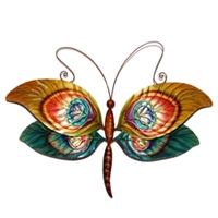 Eangee Home Design Wall Dragonfly Peacock (m711044)
