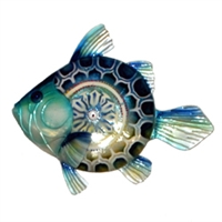 Eangee Home Design Blue Fish Wall Decor (m713132)
