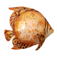 Eangee Home Design Orange Fish Wall Decor (m713134)