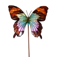 Eangee Home Design Garden Stake Butterfly Blue (m610021a)