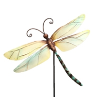 Eangee Home Design Garden Stake Pearl Dragonfly (m715059)