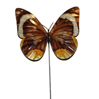 Eangee Home Design Garden Stake Butterfly Brown (m610021c)