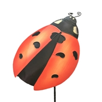 Eangee Home Design Garden Stake Lady Bug (m715062)