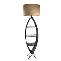 Eangee Home Design Outdoor Fish Shelf Lamp