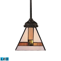 ELK Mix-N-Match LED 1-Light Pendant in Tiffany Bronze- 071-TB