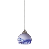 ELK Mela 1-Light LED Pendant in Mountain- 101-1MT