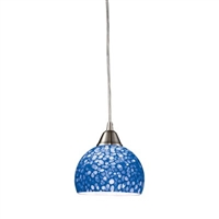 ELK Cira 1-Light LED Pendant in Satin Nickel- 10143/1PB